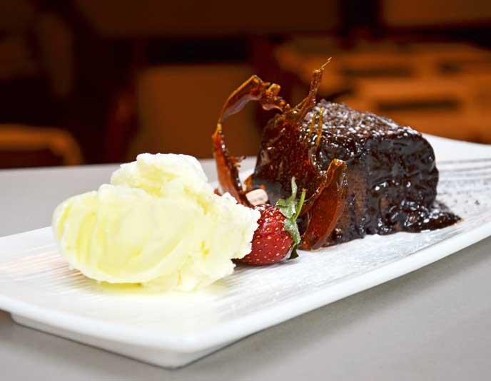 Yummy Dessert at Frank's Ristorante