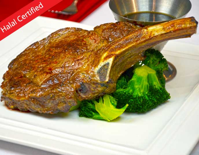 Halal Certified Steak at Frank's Ristorante
